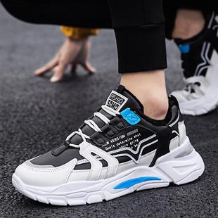2021新款 春季 男鞋 潮流运动休闲跑步透气老爹鞋 青少年学生板鞋 韩版