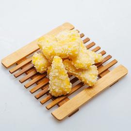 黄金菠萝酥西餐厅小吃半成品油炸食品菠萝派冷冻美食网红食材商用图片