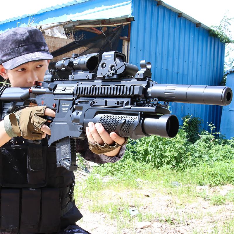 电动连发水弹枪M4绝地男孩儿童手枪HK求生M416吃鸡98k成人玩具枪,可领取10元天猫优惠券