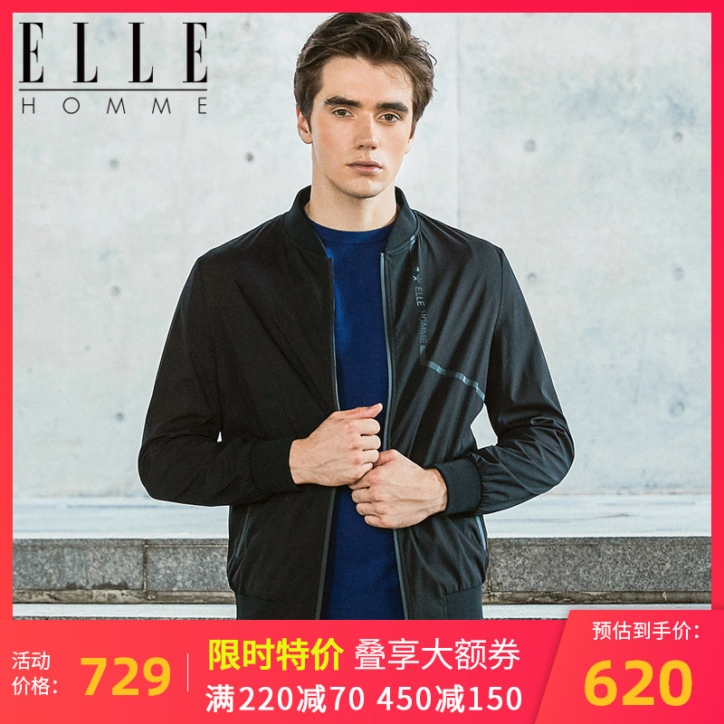 Elle Homme jacket mens summer polyester work clothes outdoor sports new coat fall / winter 2020