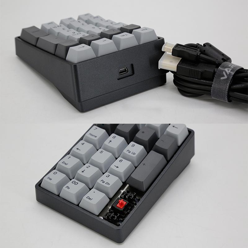 会计银行樱桃轴va22m数字小键盘有线 财务阿米洛22键外