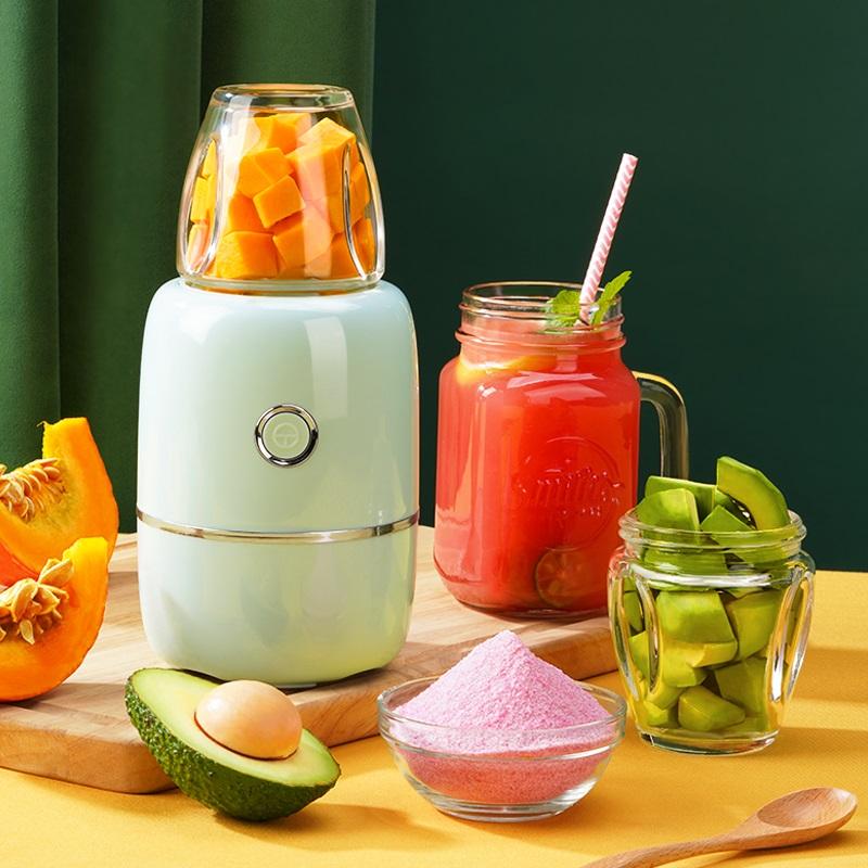 榨汁机家用水果小型多功能炸果蔬打汁料理机便携迷式迷你榨果汁机