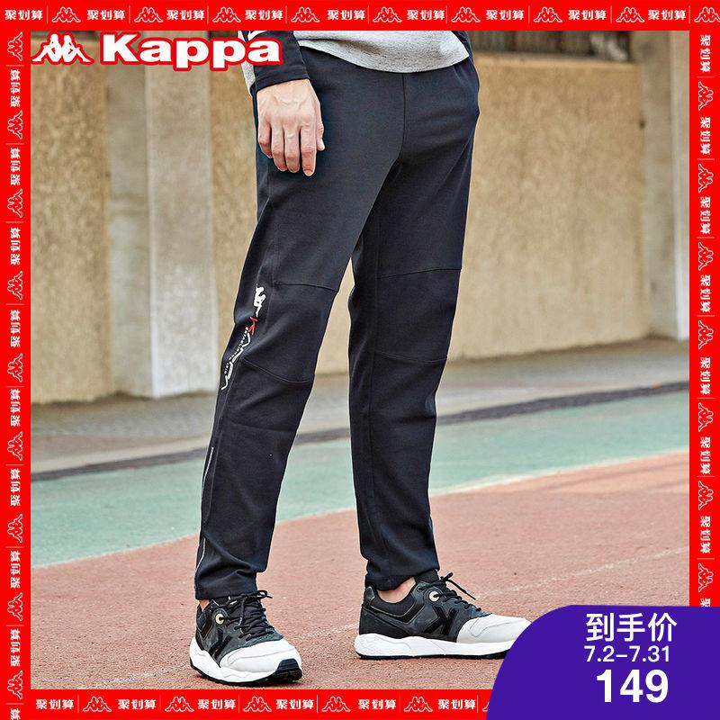 KAPPA卡帕 男运动长裤休闲裤卫裤跑步健身 K0712AK24