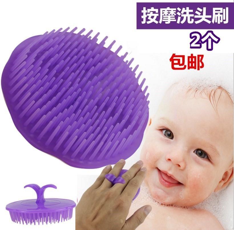 疏通挠洗发洗头圆形软毛刷梳头发仪器家用刷子梳按摩子,可领取1元天猫优惠券