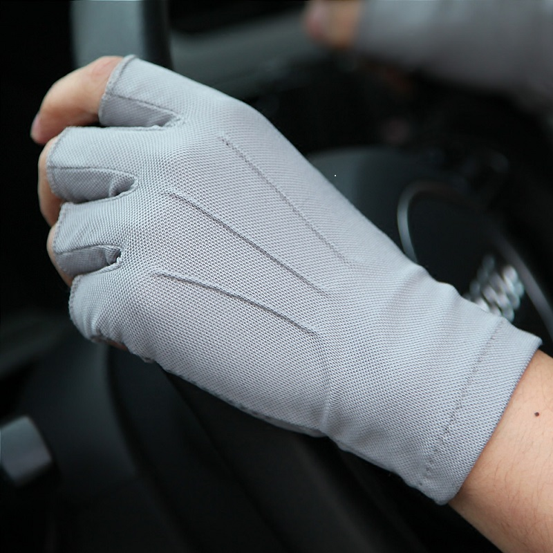 Gloves drivers special driving mens thin summer car sweat absorption and sweat prevention ultra thin training driving sweat