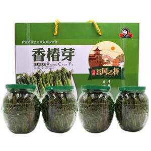 促销 沂蒙香椿芽咸菜山东特产19新鲜腌制香椿头茬香椿芽大胡