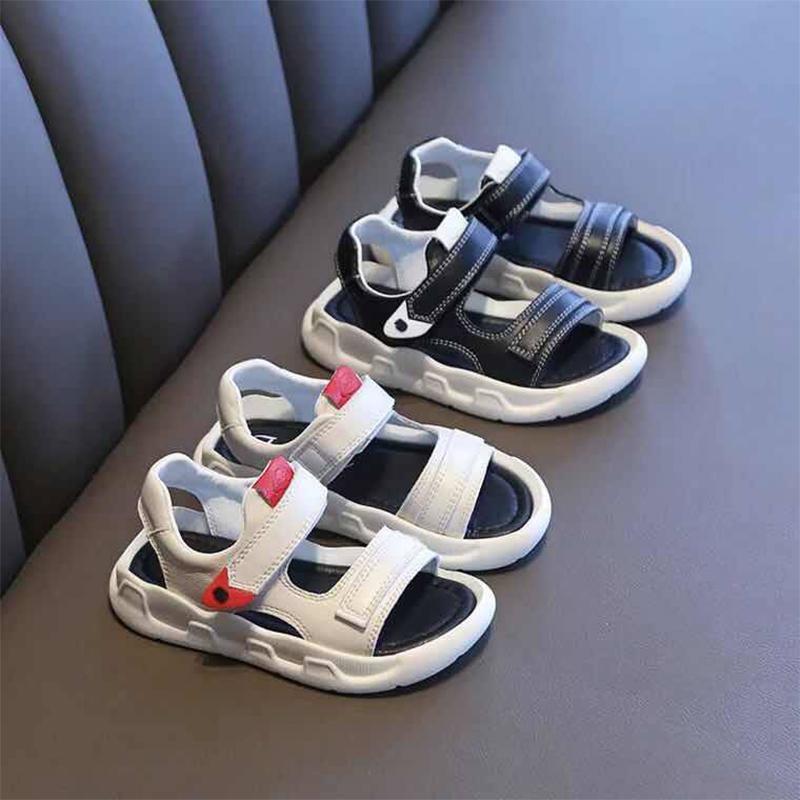 男童凉鞋2019夏季新款小男孩皮面沙滩鞋韩版防滑中大童学生凉鞋潮