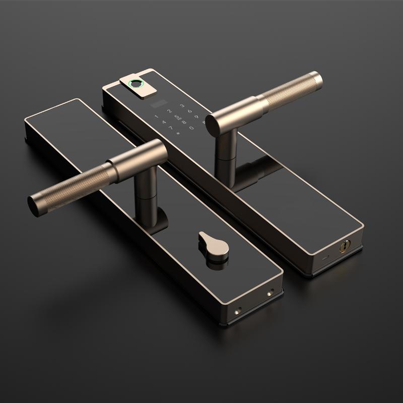 德国电子门锁高端指纹锁密码锁家用防盗门十大品牌全自动智能锁