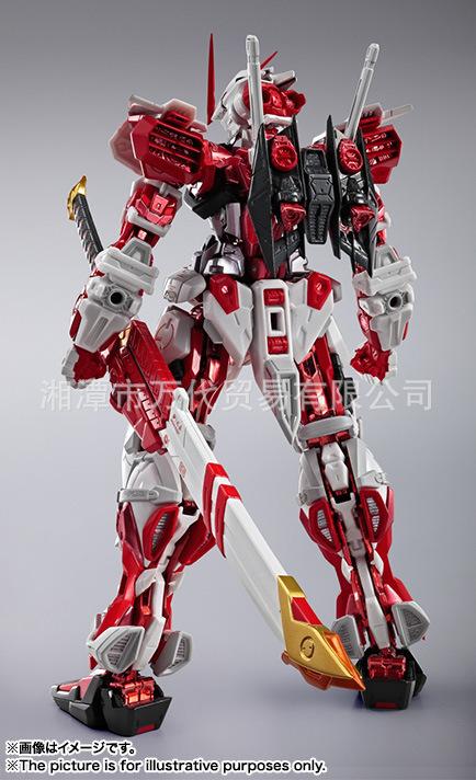 进口现货万代1/100 METAL BUILD MB 红异端 红色迷惘高达