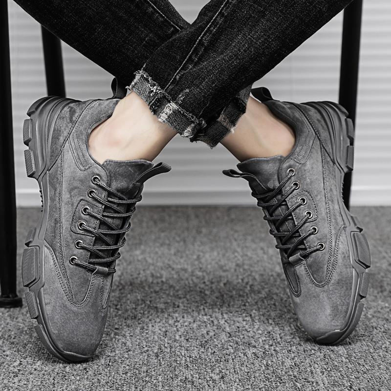 【WfWz】新款秋季潮流皮面时尚男鞋