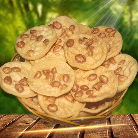江西赣南特产特色小吃花生巴月亮巴豆巴锅巴休闲零食美食锅巴50。