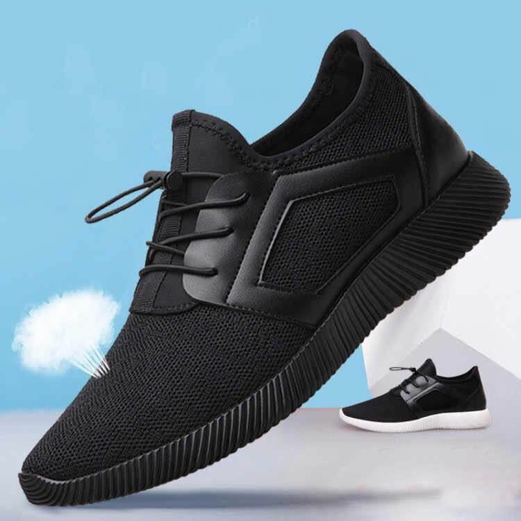 Spring and autumn new 2019 mens shoes sports versatile breathable Korean business driving light shoes