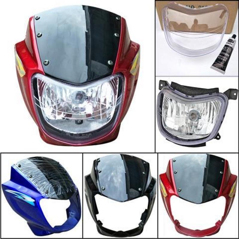 宗申比亚乔摩托车导流罩大灯罩ZS125-57头罩鬼脸罩劲扬KY150-3