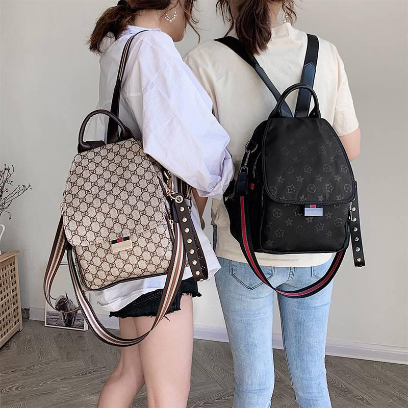 Backpack women 2020 new Korean versatile shoulder bag fashion large capacity leisure travel multi purpose Backpack