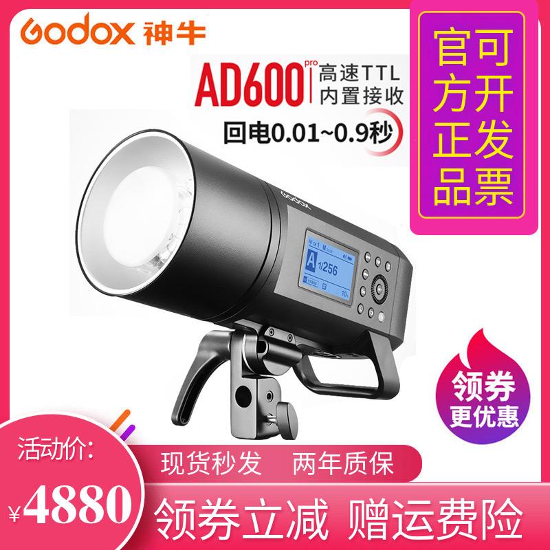 神牛AD600PRO单反相机高速TTL同步闪光灯便携影棚外景摄影外拍灯
