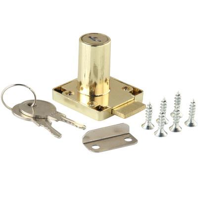 办公桌金色抽屉锁青古铜家具锁加长红古铜柜子锁柜门锁文件柜锁具