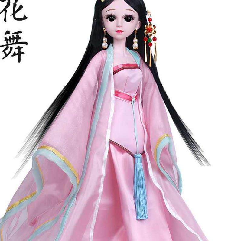 60厘米娃娃古装衣服饰古风公主女孩玩具汉服古代宫廷洋娃娃裙子