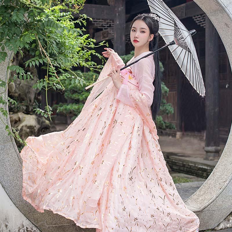 古装女宫廷公主小姐超仙白菜汉服11-30新券