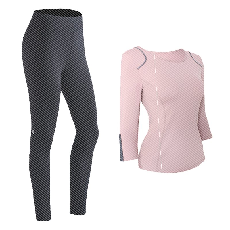 Yoga suit womens sexy fashion spring large gym professional high-end fitness suit quick drying clothes