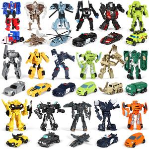 变形玩具 机器人金刚迷你大黄蜂小汽车小型全套模型套装男孩6岁5