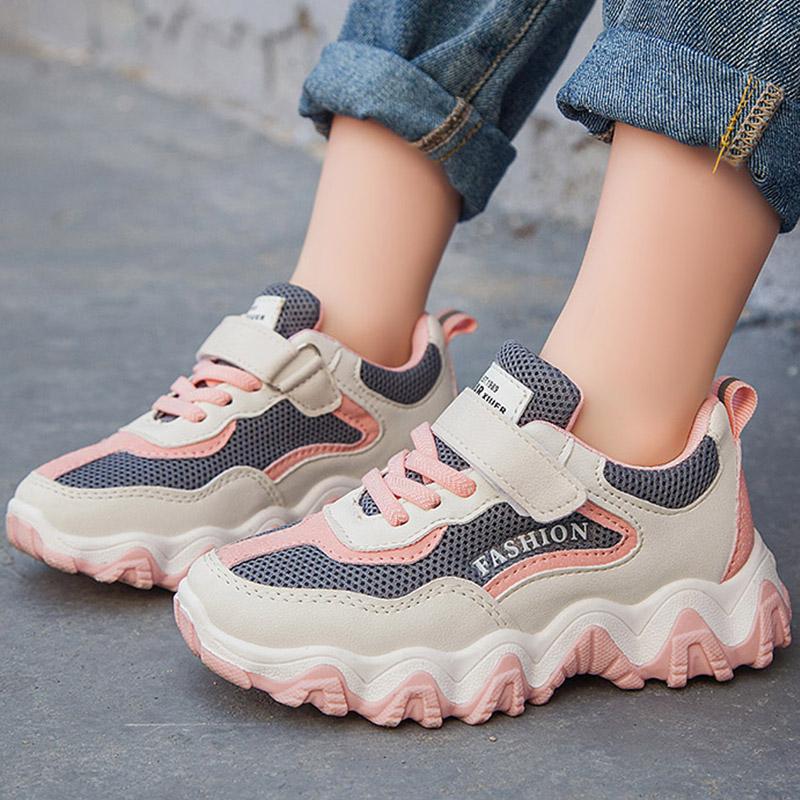 儿童运动鞋2020夏季新款男童鞋子网鞋时尚女童透气防滑韩版休闲鞋