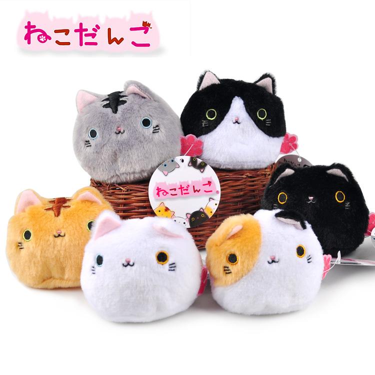 萌物日本靴下猫 团子掌沙包公仔沙包玩偶  龙猫 豆沙猫小猫咪手