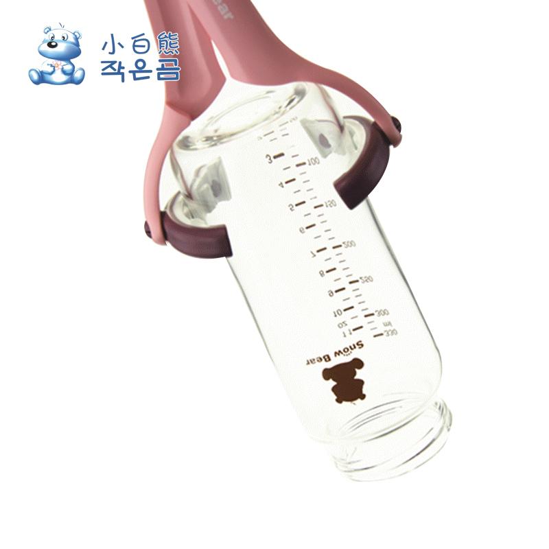 旋调试 防滑可拆奶瓶夹奶嘴夹消毒钳0895 婴儿宝宝多功