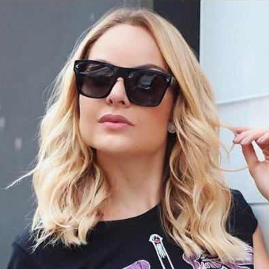 92119 European and American fashion street style versatile Sunglasses