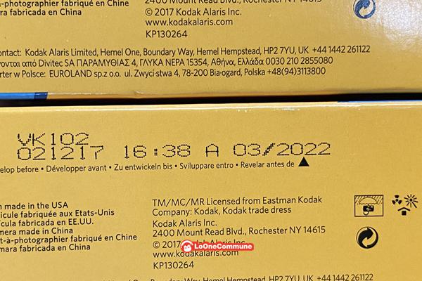 包邮美国柯达135一次性傻瓜胶卷相机39张无闪光灯 22年03月