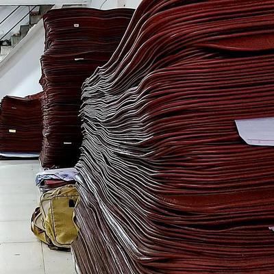 牛皮席纯天然彩绘水牛皮凉席子1.8m1.5米软硬席折叠式三件套包邮