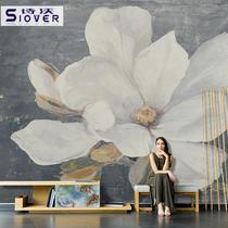 立体格子壁画影视墙壁纸现代简约沙发墙布3d电视背景墙墙纸5d客厅