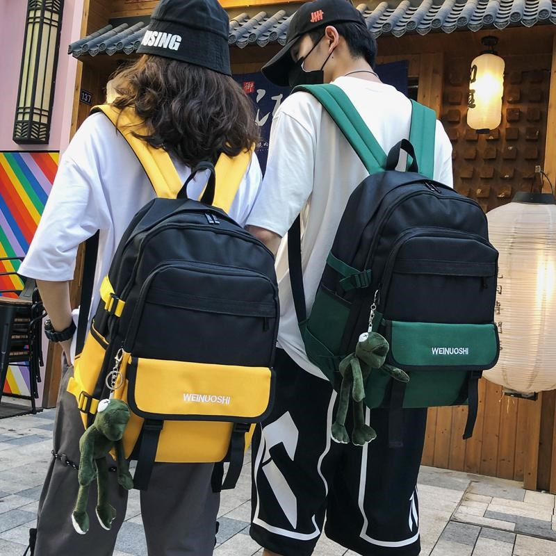 Schoolbag for girls in junior high school