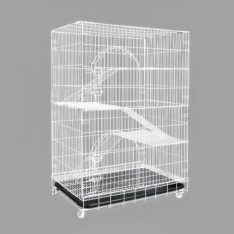 大型家用空三层双层挪威森林猫笼子(用1元券)