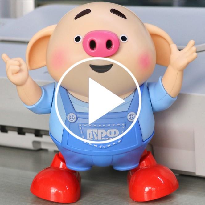 抖音网红电动跳舞婴儿玩具有声会动的宝宝唱歌男孩1一2岁儿童女孩