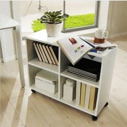 木质办公柜落地式文件柜资料柜储物柜移动矮柜桌下小柜子活动柜定