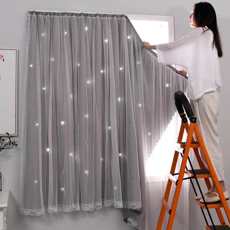 2020年新款遮光布窗帘卧室魔术贴好用吗?
