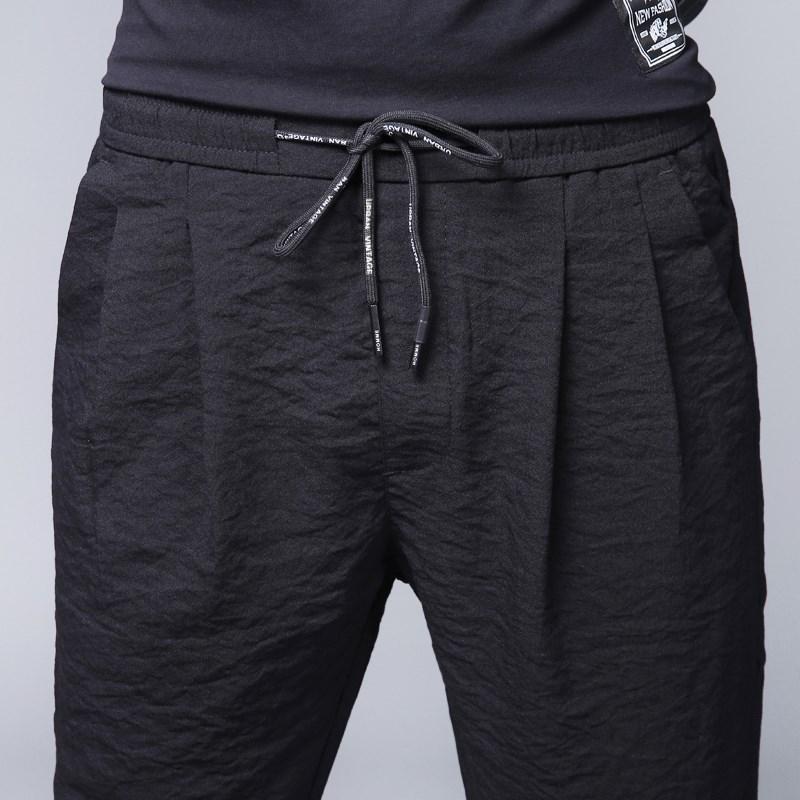 11月01日最新优惠男士运动夏季冰丝凉快超薄休闲裤