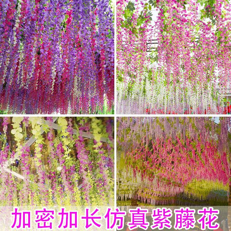 藤の花の偽花として、スミレの吊頂花の藤を使って暗号化します。