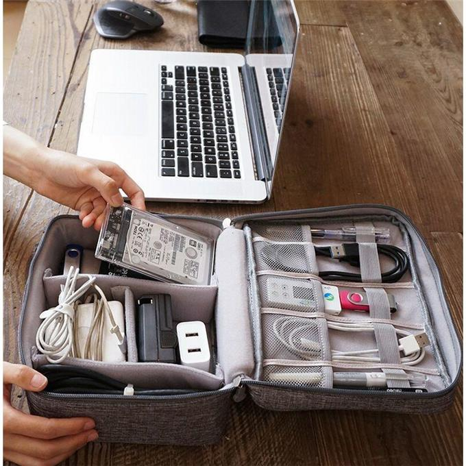 Travel multifunctional make-up Digital Travel storage bag travel electronic digital waterproof and dustproof storage and finishing bag