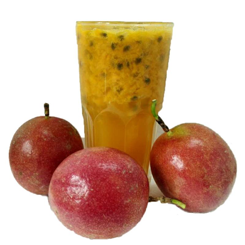 不包邮广西百香果新鲜现摘中小果5斤红果