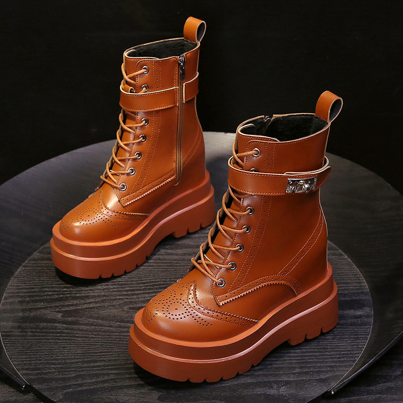 New 10 cm high Plush Martin boots in autumn and winter 2020
