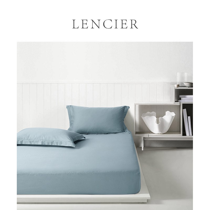 。 Lencier is very comfortable to sleep. Nordic style cotton all cotton fitted sheet single piece non slip fixed bedspread