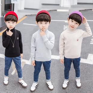 男童韩版2019新款秋季中大童毛衣