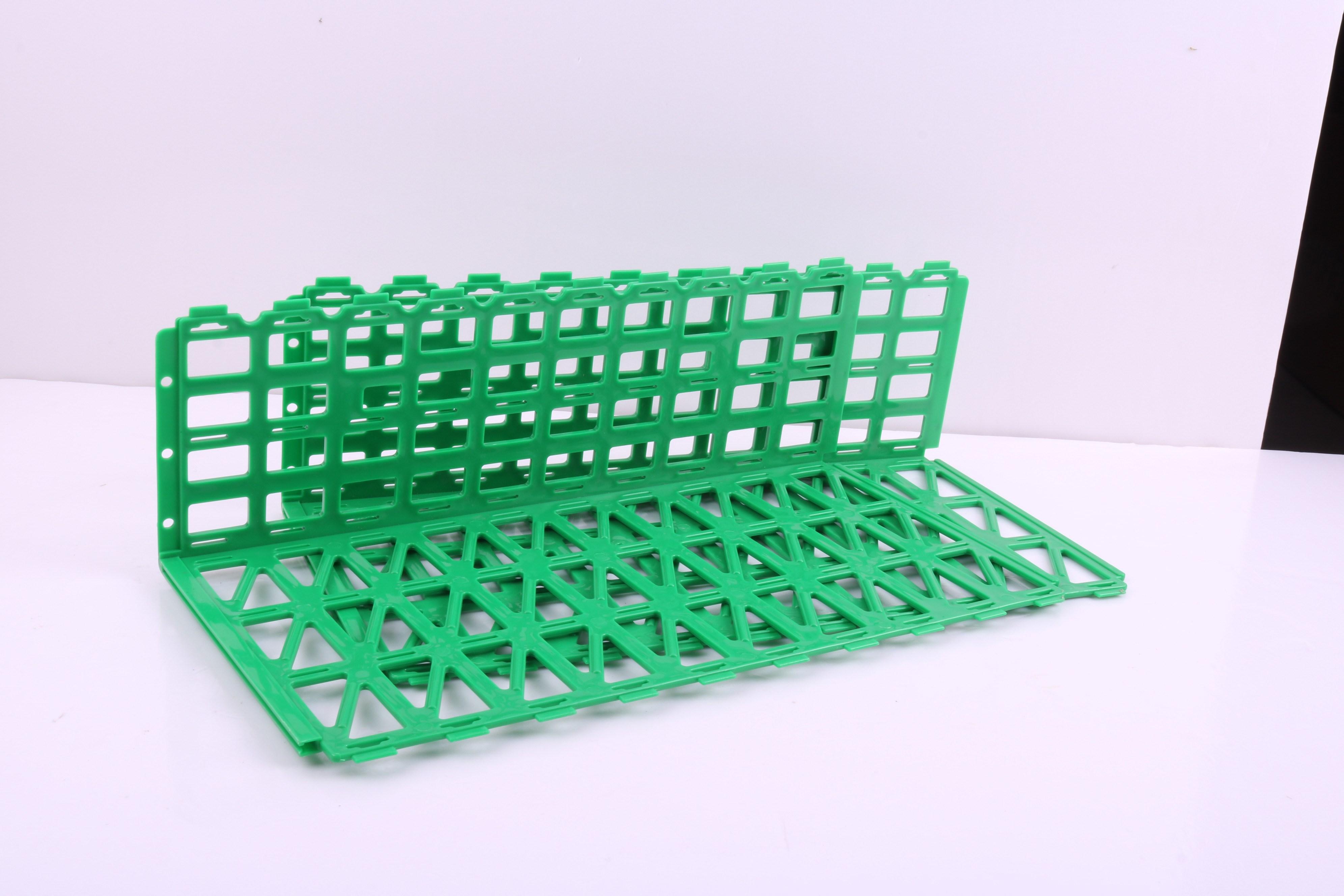 。网格固定超市水果护栏塑料挡板折叠新款创意围挡围栏栅栏隔离带