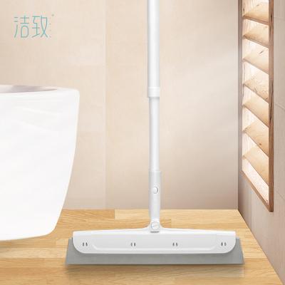 洁致魔力无尘扫把刮水器家用卫生间厕所擦玻璃神器扫头发地刮拖把