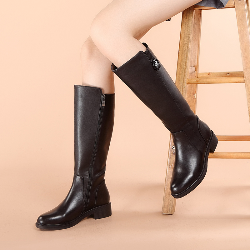 Martin boots new womens leather versatile boots in 2020