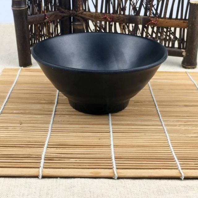 碗小碗中式碗烩面碗商用仿瓷青花饭碗塑料白色粥a5快餐店米饭店