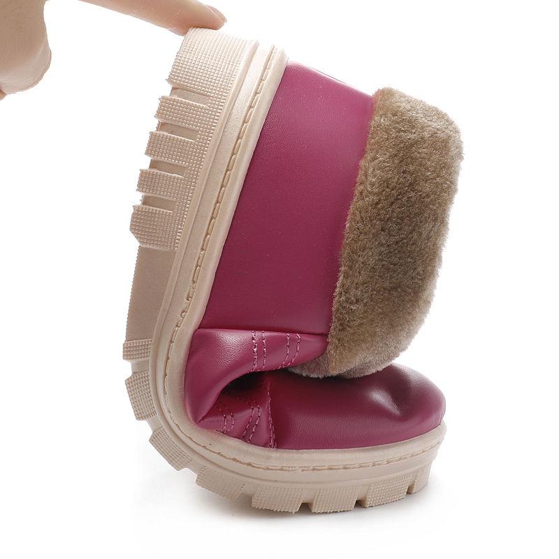 2020冬季棉鞋女鞋居家防滑厚底保暖防水雪地棉靴加绒情侣款二棉靴