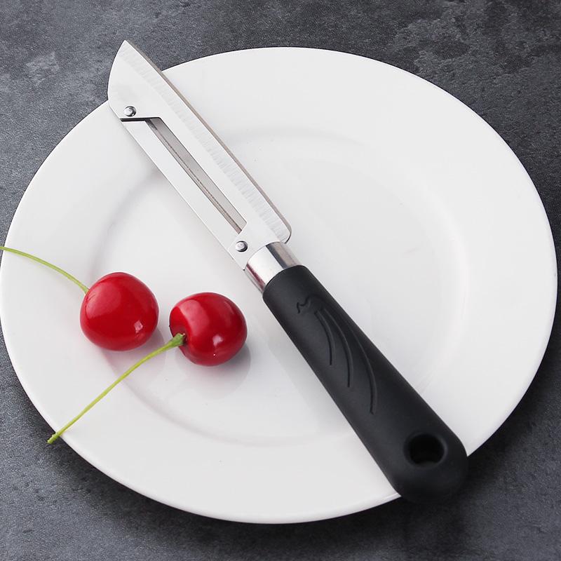 (用1元券)家用不锈钢削皮刀削皮器水果去皮刀水果刀厨房瓜果切削器剔果刨刀