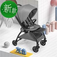 xjd婴儿推车可坐可躺轻便简易折叠新生儿双向宝高景观手l推车避震